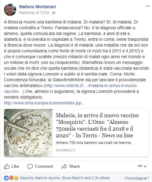 montanari miedico morelli bambina malaria vaccini - 3