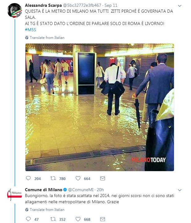 paolo ferrara m5s allagamento metro milano 2014 - 3
