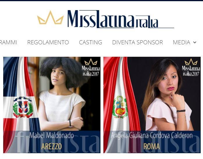 regione lombardia miss latina