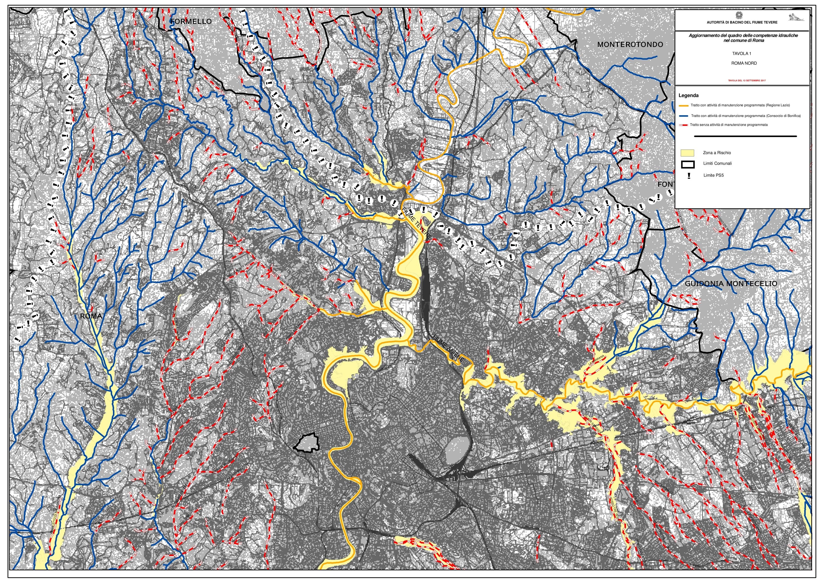 roma rischio alluvione