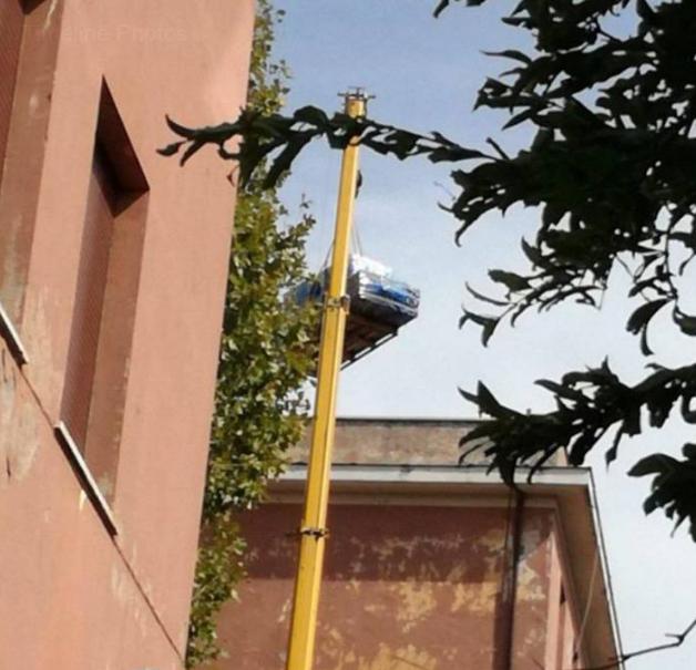 scuola crispi amianto monteverde roma - 3