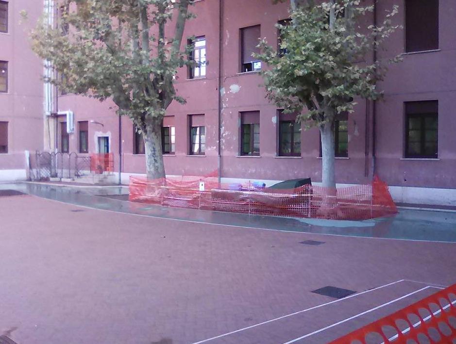scuola crispi amianto monteverde roma - 5