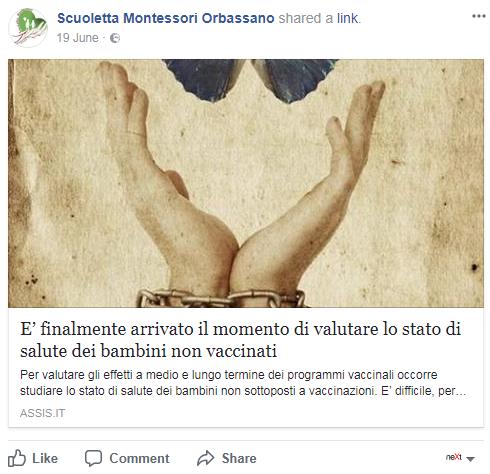 scuoletta montessori orbassano no vax - 7