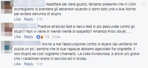 stupro firenze carabinieri turiste usa - 15