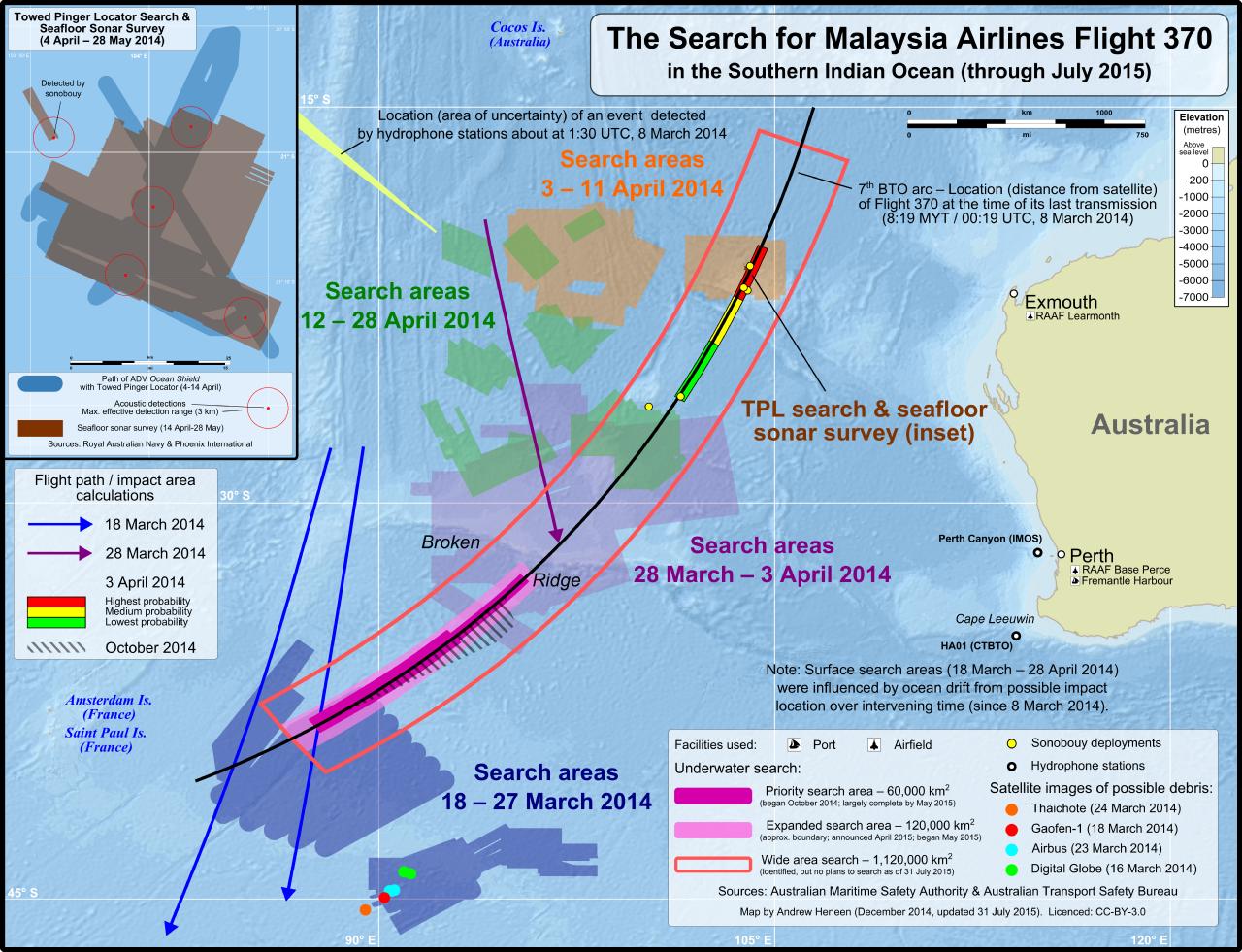 MH370 ricerca luglio 2016 - 1
