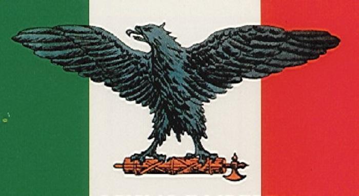 bandiera fiamma messa