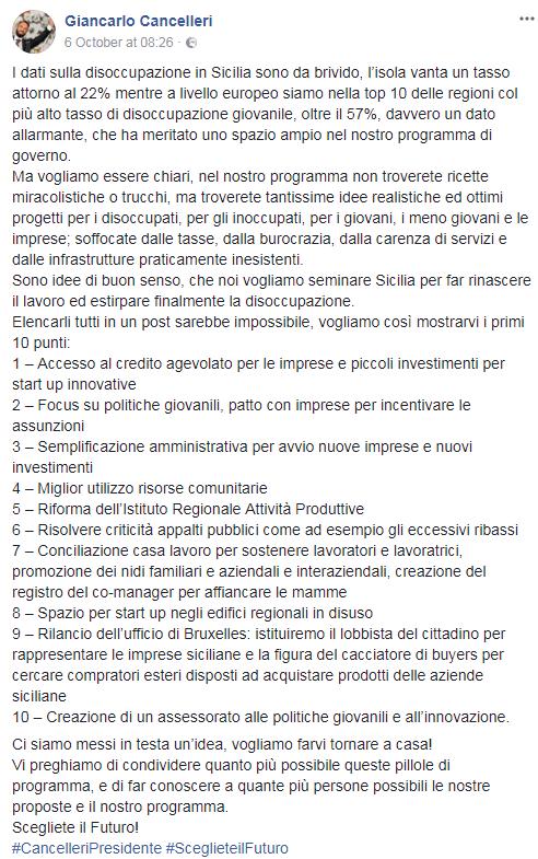 cancelleri sicilia m5s reddito di cittadinanza - 3