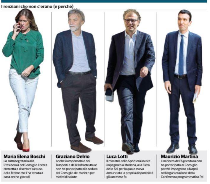 Boschi assente a riunione Cdm sulla nomina del governatore di Bankitalia
