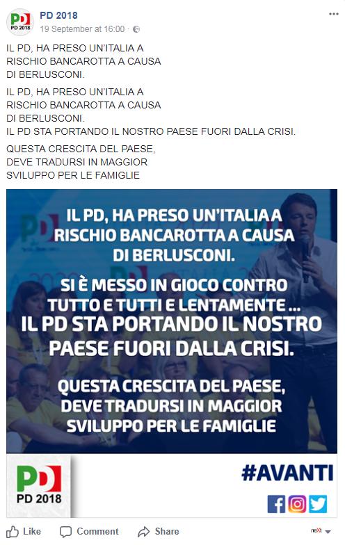 democratici 2018 pd 2018 comunicazione pd renziano - 1