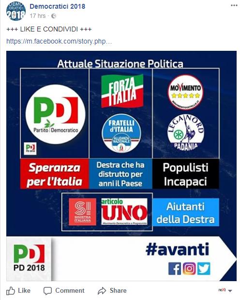 democratici 2018 pd 2018 comunicazione pd renziano - 2
