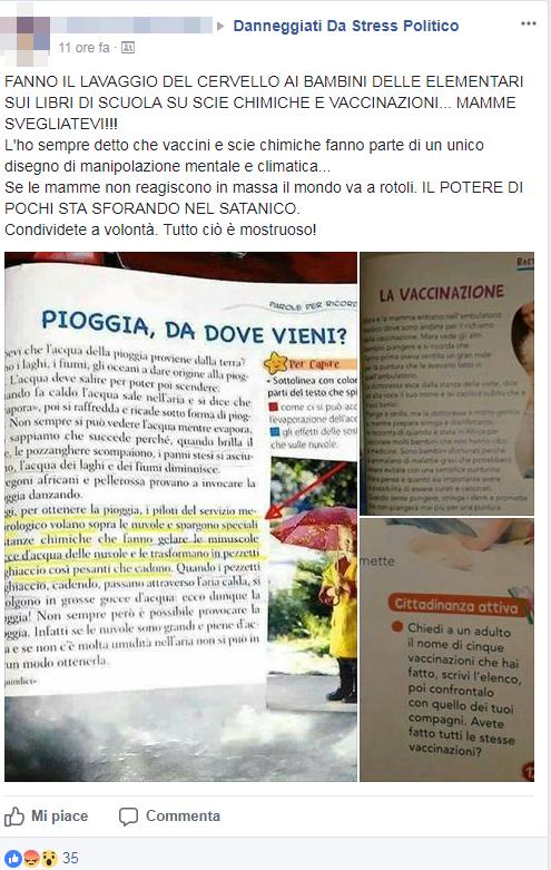 genitori no vax libri scuola vaccini - 5