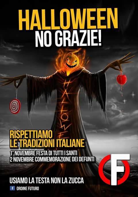 halloween forza nuova proteste - 9