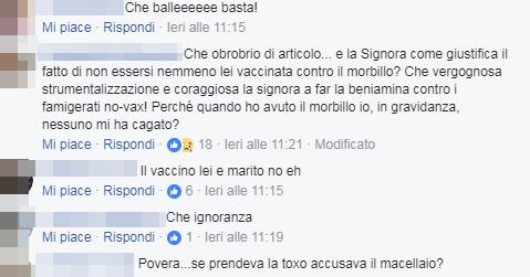 mamma incinta morbillo roma corvelva no vax - 2