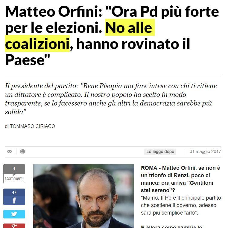 matteo orfini coalizioni