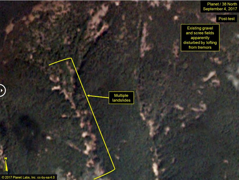 punggye-ri test nucleare tunnel incidente corea del nord - 2