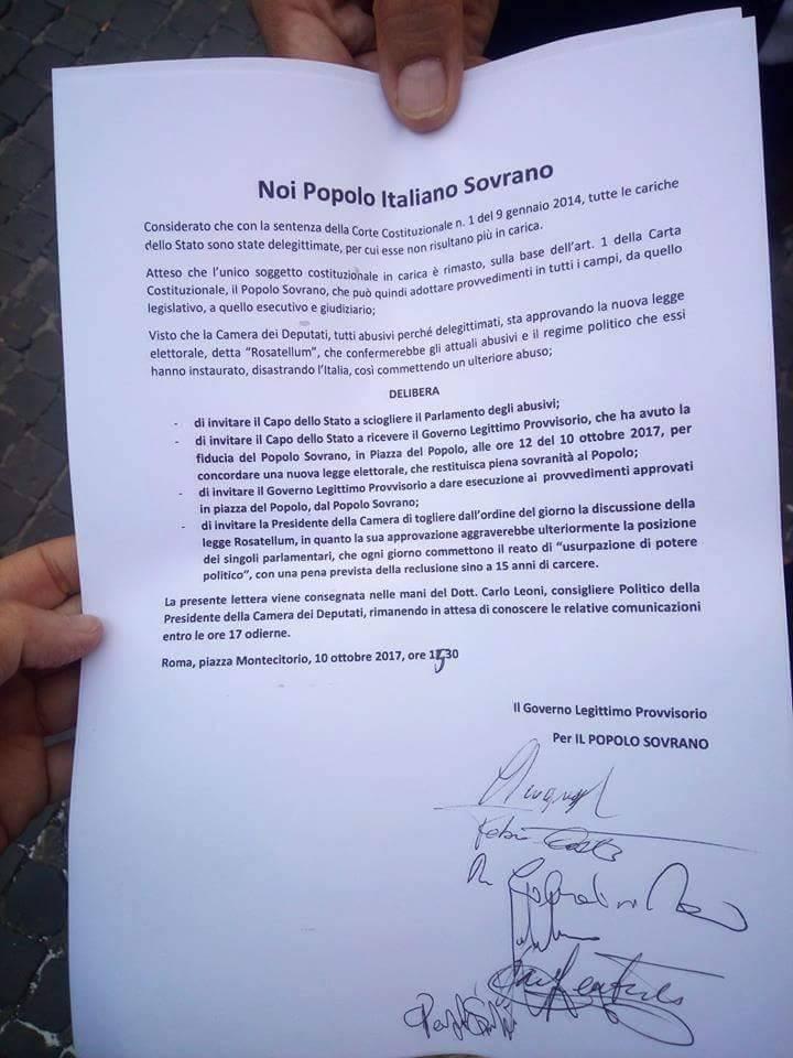 rivoluzione pappalardo 10 ottobre ultimatum - 8