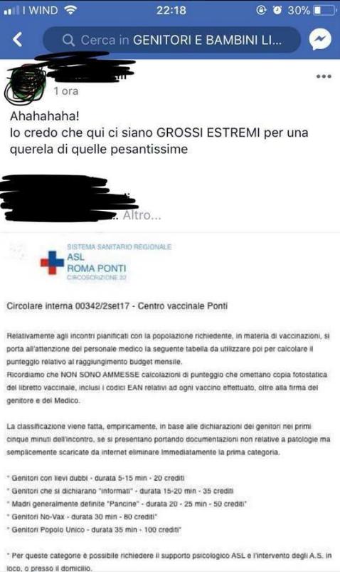 roma ponti circolare interna centro vaccinale fake - 2