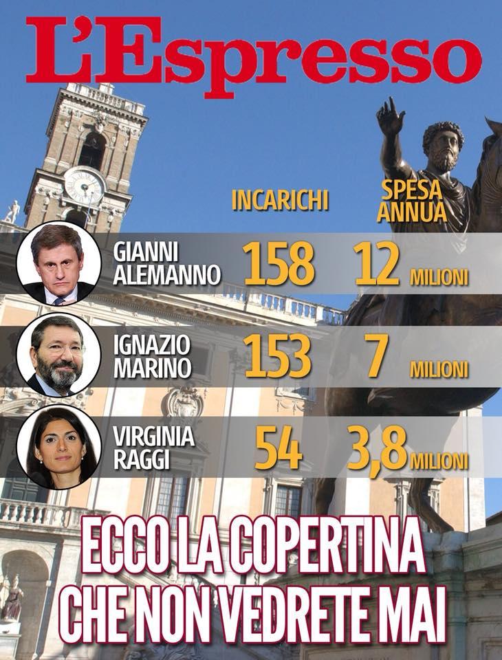 virginia raggi nominati espresso - 1