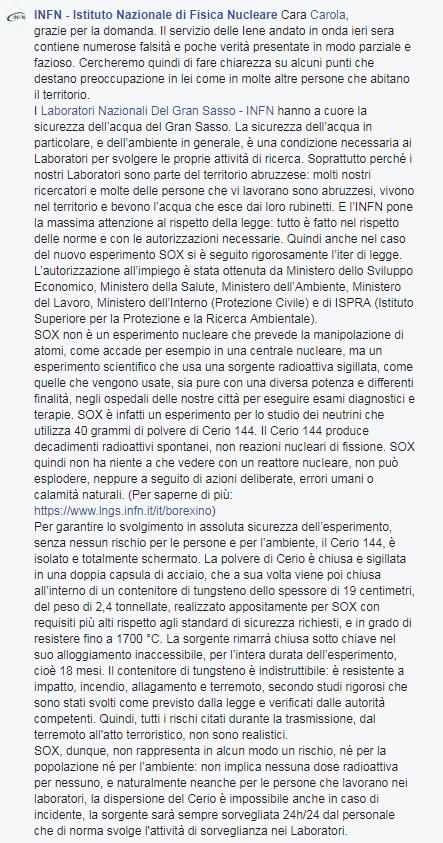 Iene Nadia Toffa Gran Sasso Sox Borexino - 3