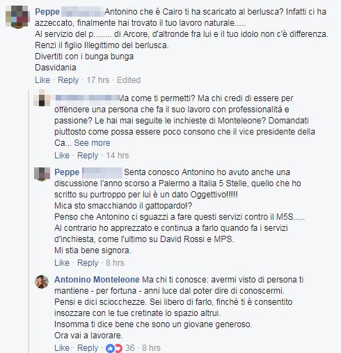 antonino monteleone di maio insulti - 2