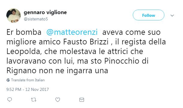 Fausto Brizzi accusato di molestie: