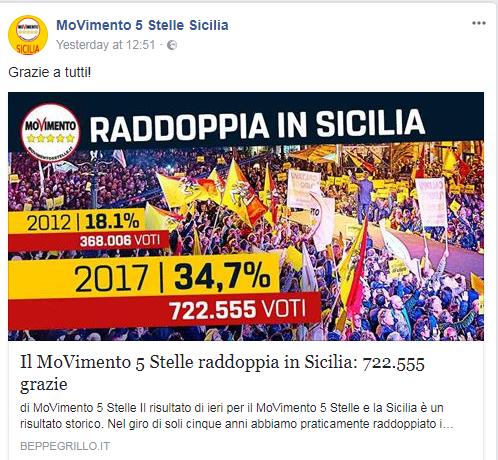 elezioni sicilia m5s voti confronto cancelleri - 3