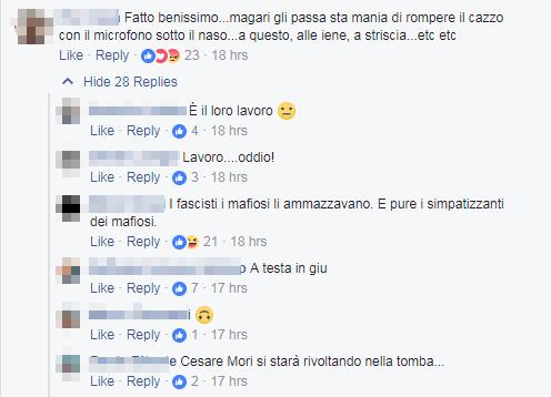 nina moric casapound insulti zingari spada - 2
