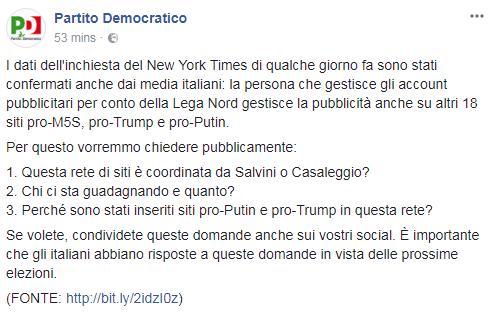 pd m5s fake news siti casaleggio salvini - 1