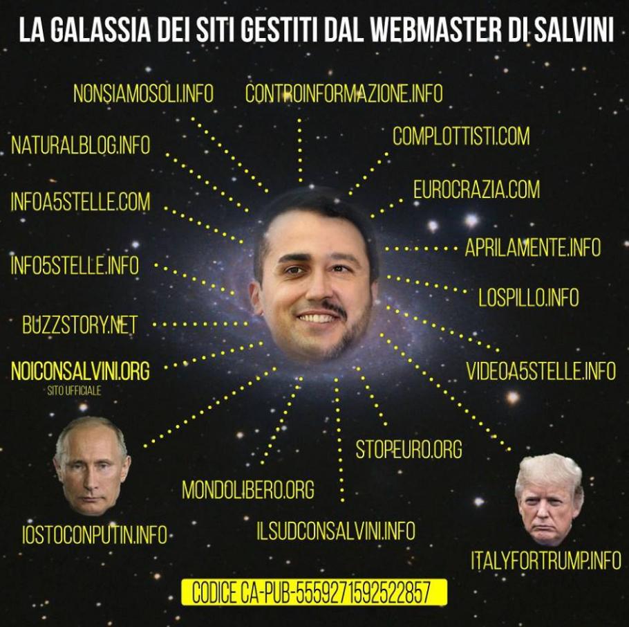 pd m5s fake news siti casaleggio salvini - 2
