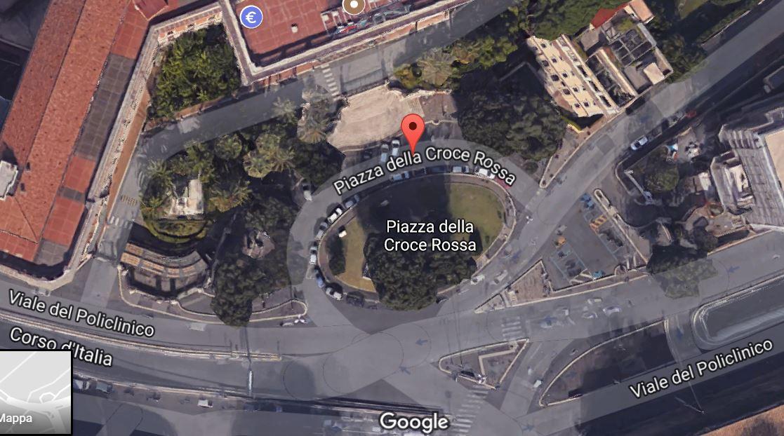 piazzale della croce rossa