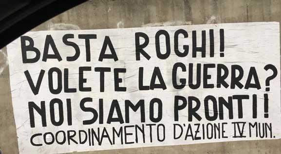 Palazzo occupato in Via dei Lauri: rom sgomberati dalla polizia