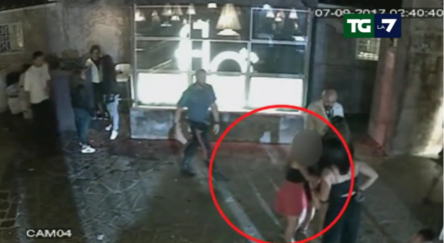 stupro firenze incidente probatorio porta a porta - 1