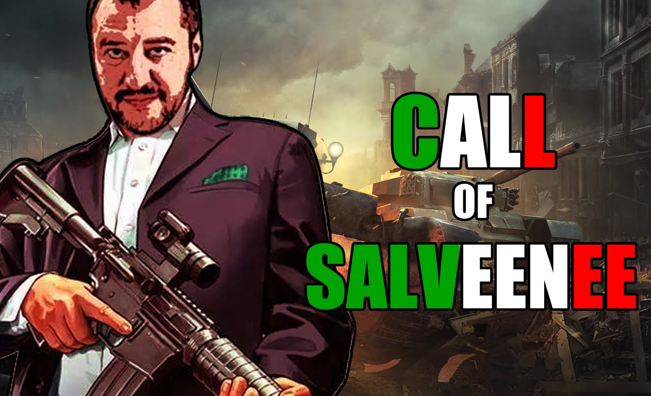 bandiera neonazista call of salveenee