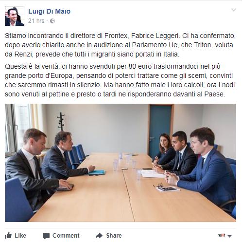 Pensioni d'oro, scontro Renzi-Di Maio