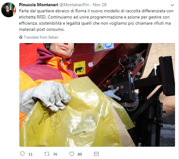 emergenza rifiuti roma porta a porta montanari - 1