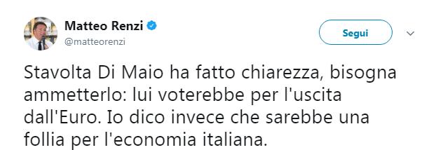 luigi di maio referendum uscita euro - 2