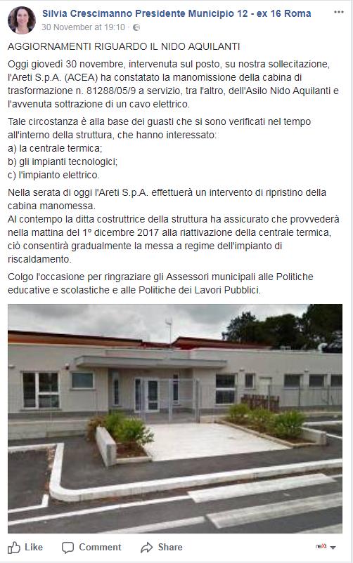 nido aquilanti municipio XII roma crescimanno - 2