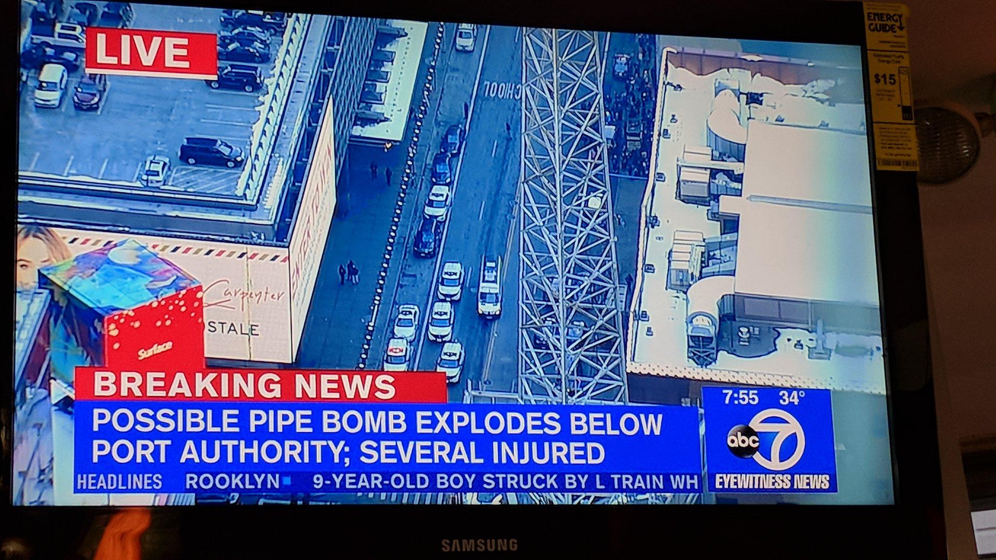 port authority manhattan pipe bomb