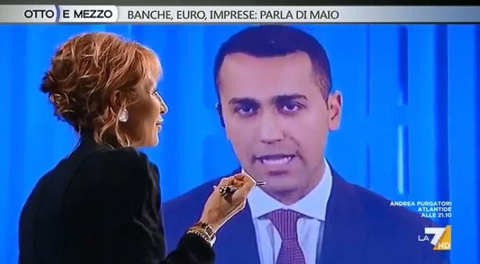 referendum euro di maio la 7 - 2