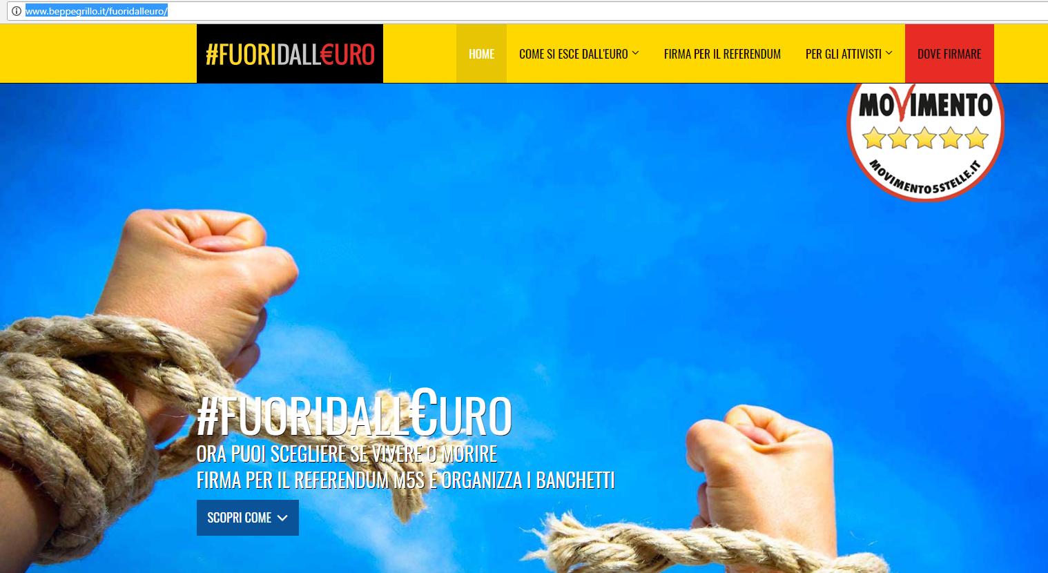 referendum euro di maio la 7 - 3