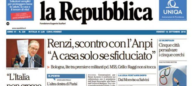 repubblica renziani
