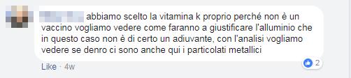 vaccini puliti vitamina k analisi montanari - 10