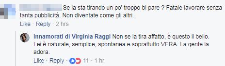 virginia raggi opera roma vestito commenti - 11