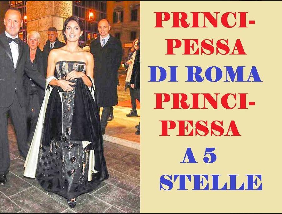 virginia raggi opera roma vestito commenti - 8