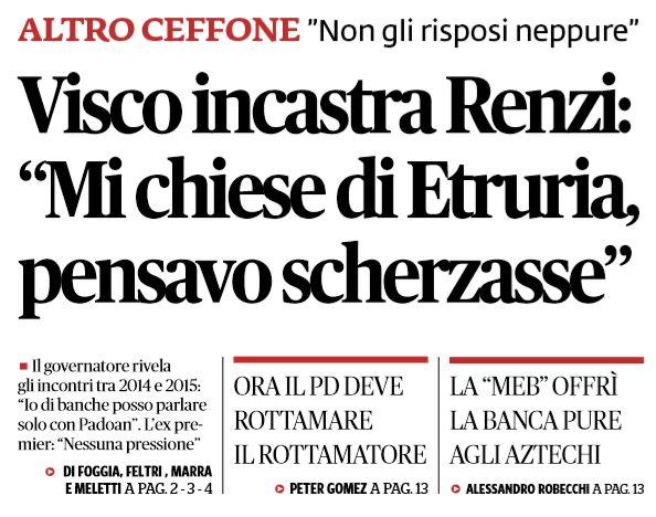 Banca d'Italia, Ignazio Visco: