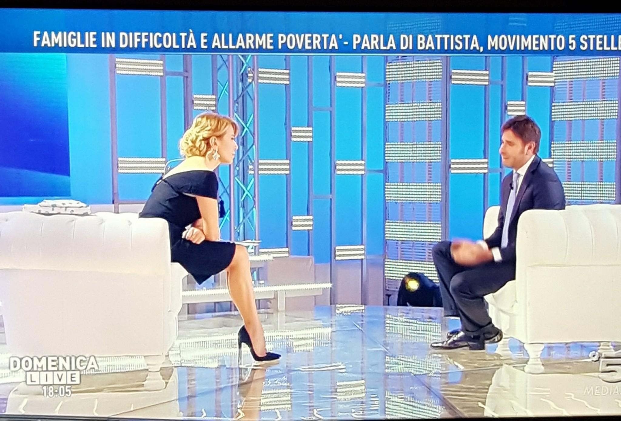 Paola Caruso rivela un dramma del passato a 'Domenica Live'