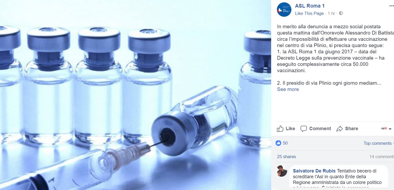 asl di battista vaccini