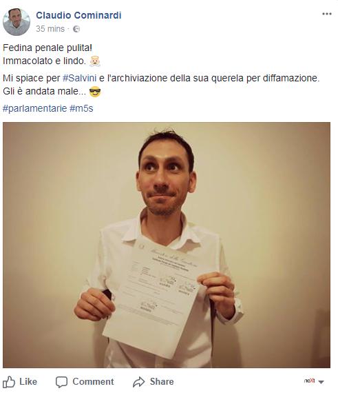 candidabili 5 stelle bolli parlamentarie fedina penale - 2