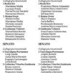 candidati circoscrizioni plurinominali roma 1