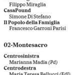 candidati roma camera senato 1